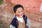 Portrait of a boy in Qenqo, Perú. Photographer: Genna