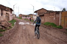 We rode through some small villages. (Photo: J.Lambert)