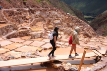 The salt mines of Maras. (Photo: J.Lambert)