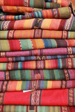 The natural dyes provide beautiful and vibrant colors. (Photo: JLambert)