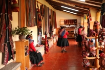 The centro includes a shop where the women can sell their finished pieces. (Photo: JLambert)