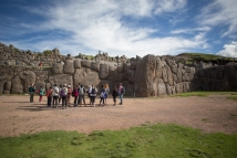 The group at Saqsaywaman.